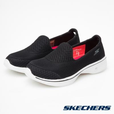 SKECHERS (女) 健走系列 GO Walk 4 - 14170BKW