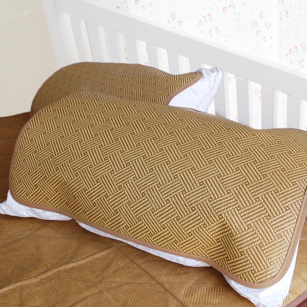 凱蕾絲帝-台灣製造-軟枕專用透氣紙纖平單式枕頭涼蓆 2入