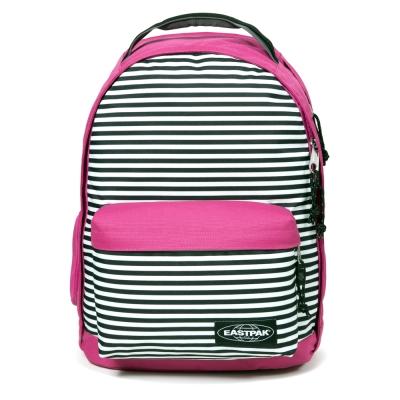 EASTPAK 電腦後背包 Chizzo系列 Charged Stripe Pink