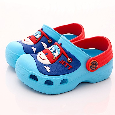 SUPER WINGS 超輕量涼鞋款 EI3904紅(中小童段)