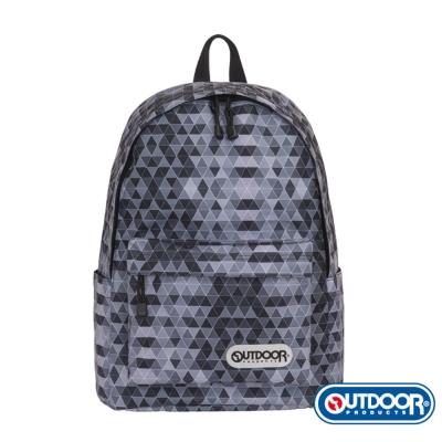 OUTDOOR- 花花世界Style街頭潮流系列-後背包-黑鑽-OD181224BK