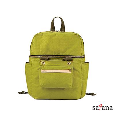 satana -Soldier 豐富生活可拆式後背包 - 檸檬香茅