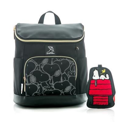 Arnold Palmer x Snoopy- 後背包 Soft Bag 休閒軟包系列-黑