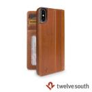 Twelve South Journal iPhone X 皮革卡夾保護套