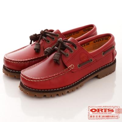 ORIS 女款 真皮烙印limit 777帆船鞋~777A07