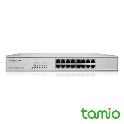TAMIO S16 16埠機架式Giga高速乙太網路交換器