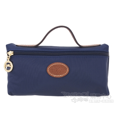 LONGCHAMP Le Pliage 摺疊包系列化妝包(深藍)