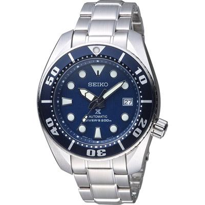 SEIKO PROSPEX 專業潛水藍水鬼運動錶(6R15-00G0A)黑/45mm