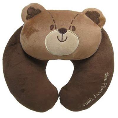 Cute動物頸靠枕(咖啡熊)3入