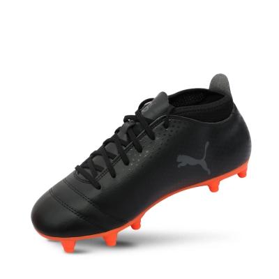 PUMA-PUMA ONE 17.4 FG 男性足球運動鞋-黑色