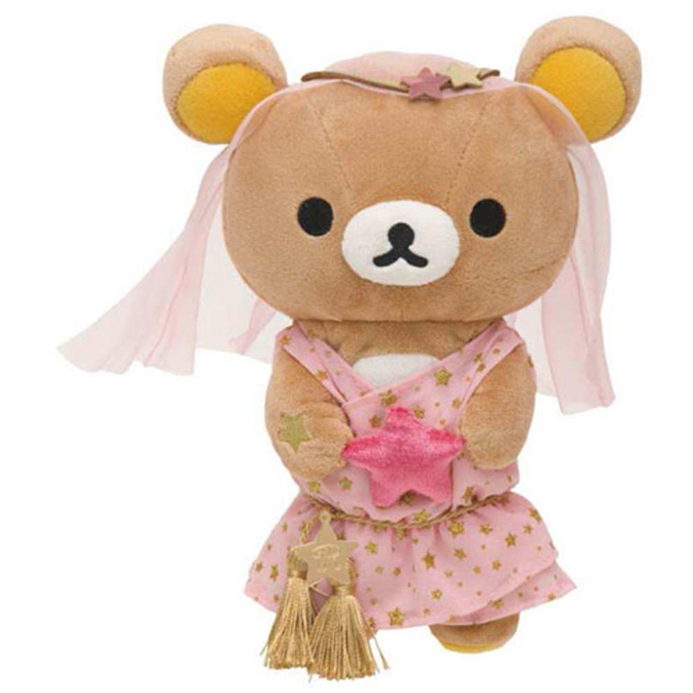 拉拉熊12星座毛絨公仔店舖限定版。處女座