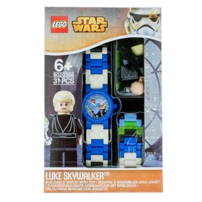 【 樂高積木 LEGO 】兒童手錶 - 星際大戰 天行者路克