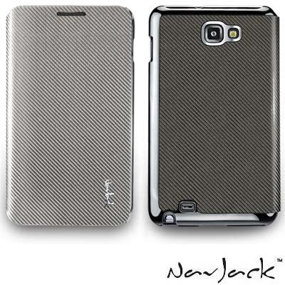 NavJack Corium 系列 Galaxy Note 玻纖折蓋式保護套
