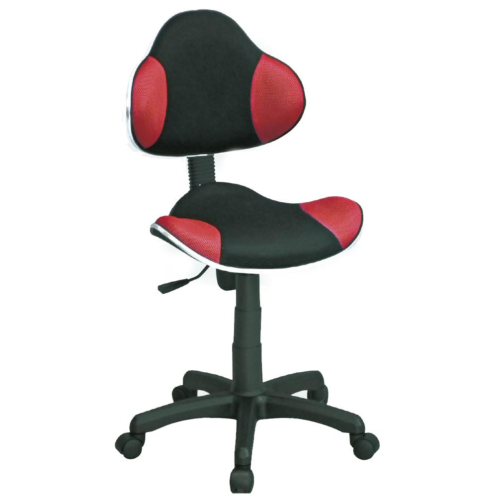 H.U.A華勝 普爾黑紅造型電腦椅/辦公椅