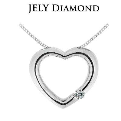 JELY 完美愛情 約3分天然真鑽項鍊