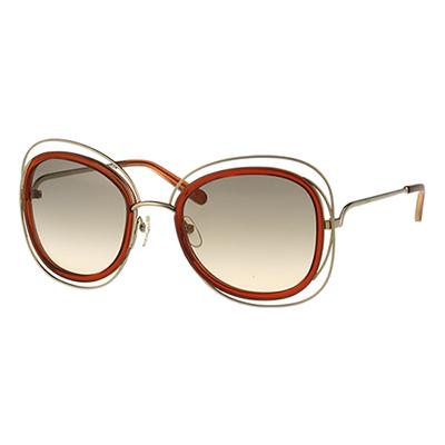CHLOE太陽眼鏡-金色-咖啡紅-CE123S-7