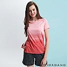 GIORDANO 女裝G-MOTION運動彈力短袖T恤-90 天竺葵粉紅