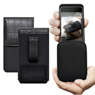 二代Pro Achamber 簡約直立可旋轉腰夾皮套 For iPhone X ...