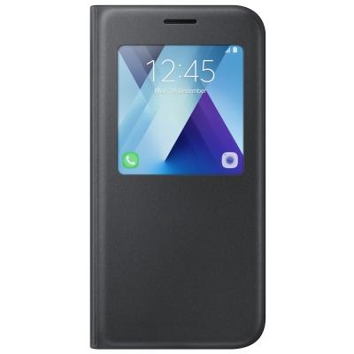 Samsung Galaxy A5 (2017版) 透視感應皮套(立架式)