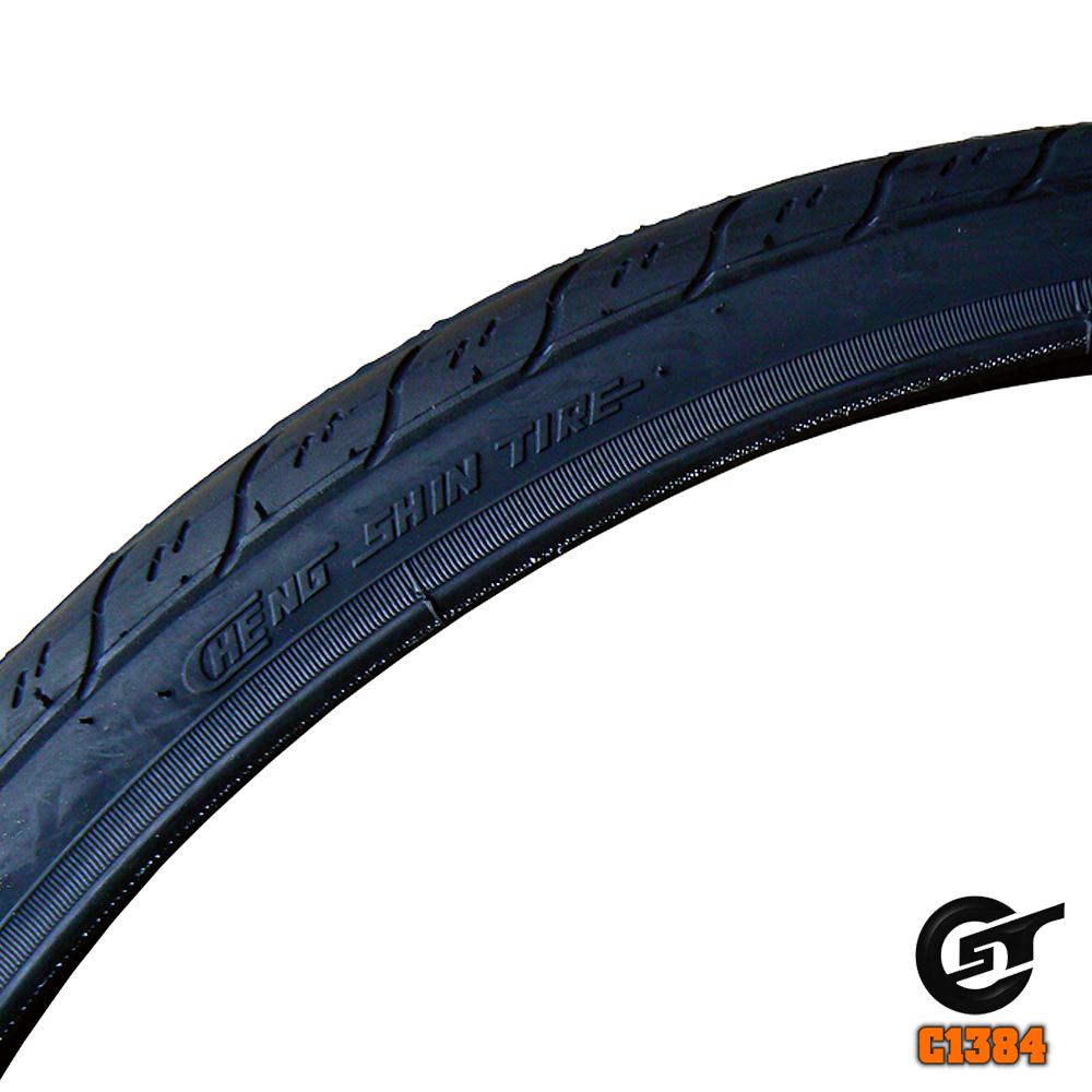 《正新輪胎 C-1384》登山車專用全黑光頭胎