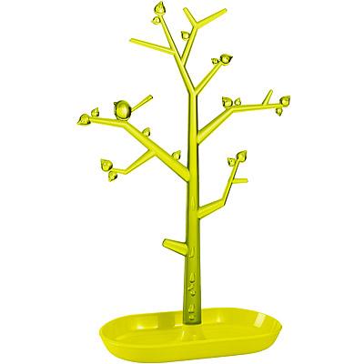 KOZIOL 樹梢鳥珠寶架(綠L)