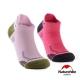 Naturehike  女款 A014炫彩拼色 輕壓力運動短襪 2入組 product thumbnail 1