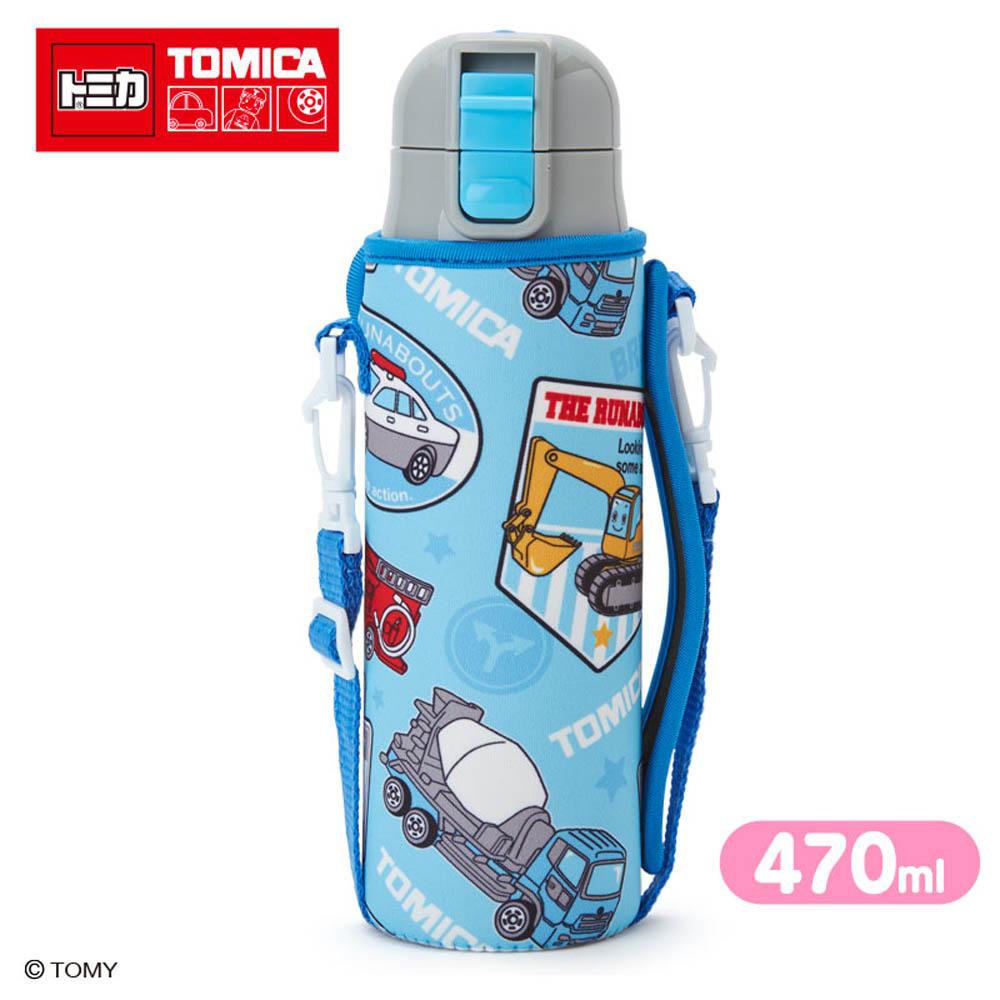 Sanrio汽車宇宙*TOMICA輕量不鏽鋼保冷直飲水壺附袋