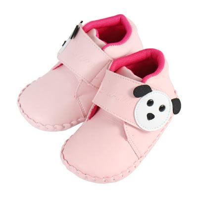 Swan天鵝童鞋-狗狗小短靴學步鞋 1502 -粉
