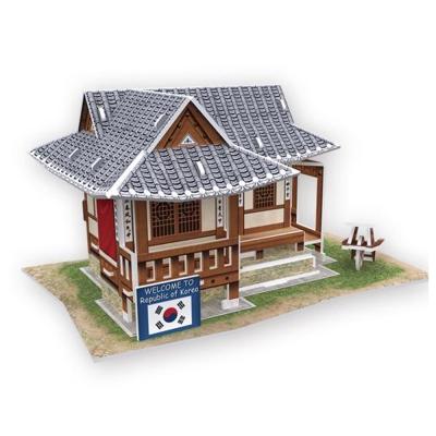 世界之窗 3D立體拼圖 韓國-素民居 3D World Style