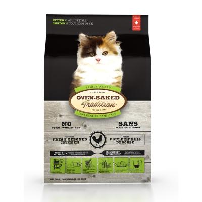 Oven-Baked烘焙客 幼貓 雞肉口味 低溫烘焙 非吃不可 2.5磅 X 1包