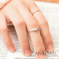 Angemiel安婕米 925純銀戒指組合 美夢成真
