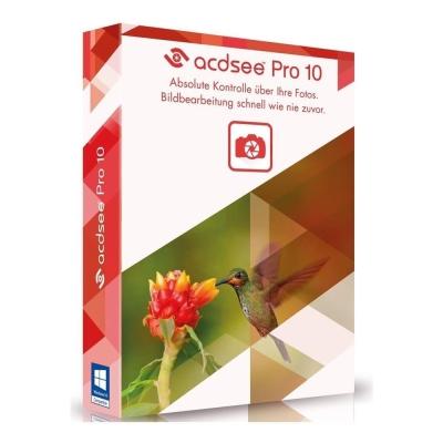 ACDSee Pro 10 (繁體中文) - Windows - 下載版 含安裝備份光碟