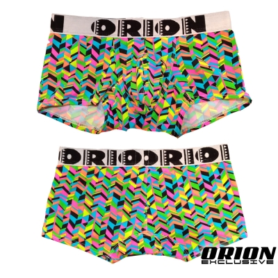 ORION 加強包覆箭頭繽紛平口內褲 男內褲