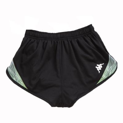 KAPPA義大利舒適時尚吸溼排汗田徑短褲1件~黑