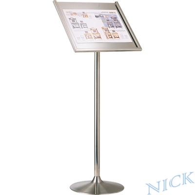 NICK 斜面式不鏽鋼告示牌