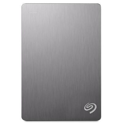 Seagate 5TB Backup Plus 2.5吋行動硬碟-銀色系