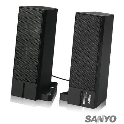 三洋 SYSP-S002 2.0聲道USB多媒體喇叭-森之霸
