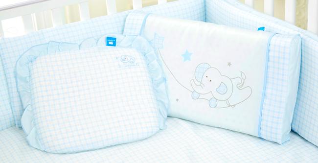 【les enphants 麗嬰房】 寶貝天絲乳膠童枕 (2色可選)