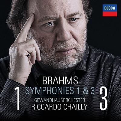 布拉姆斯/第1&3號交響曲(1CD)