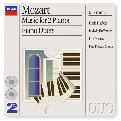 莫札特-雙鋼琴作品-1CD