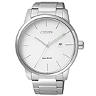 CITIZEN 簡單俐落光動能男仕腕錶(BM6960-56A)-白/43mm