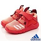 adidas童鞋 輕量透氣慢跑款 BZE492 紅 (寶寶段)