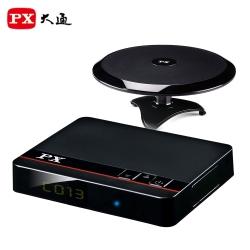 PX大通HD-8000+HDA-6200高畫質數位電視接收機+高畫質室內天線