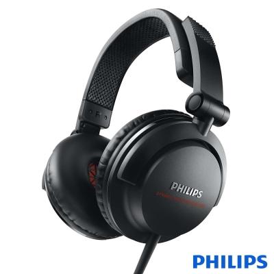 PHILIPS 飛利浦 DJ監控 頭戴式耳機SHL3300BK