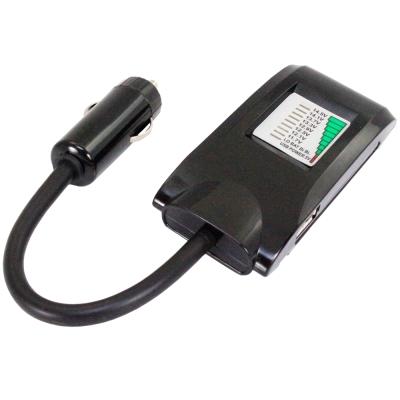 [快]新一代電瓶偵測器+USB充電插孔