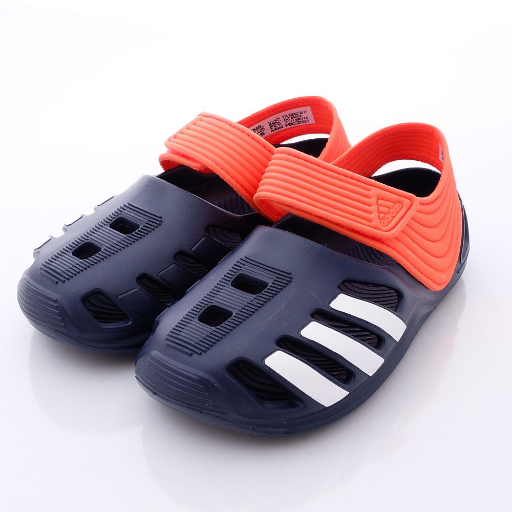 adidas童鞋-輕量超IN洞洞款-B44458(中小童段)HN