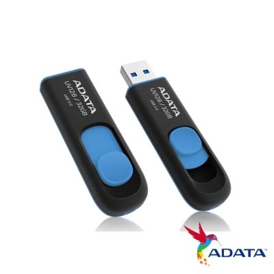 ADATA威剛 UV128 32G USB3.0行動碟(藍)