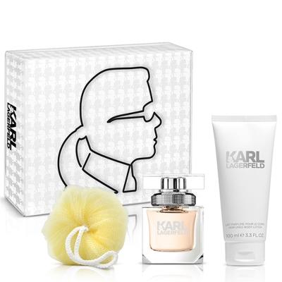 Karl Lagerfeld卡爾‧拉格斐 卡爾同名時尚女性淡香精禮盒