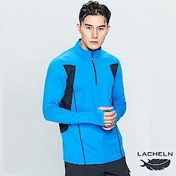 【LACHELN】拼接保暖立領衫-(L73MC15)