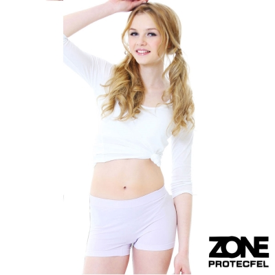 女內褲 諾貝爾世紀纖維貼身防護女褲(粉紫) ZONE